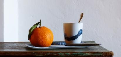 Céramiques Isabelle René - Tasse et coupelle